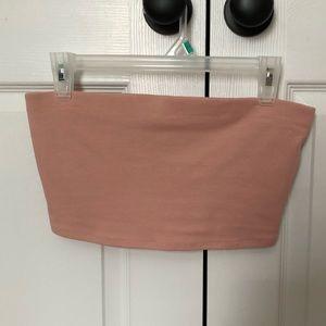 Light Pink Tube Top